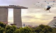 Clip Singapore thử nghiệm trực thăng taxi không người lái