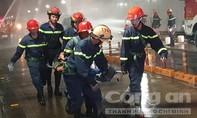 """""""Giải cứu 40 người bị tai nạn"""" trong đường hầm Thủ Thiêm"""