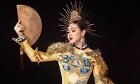 Trang phục dân tộc của Á hậu Tường San tại Hoa hậu quốc tế 2019