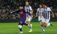 """Clip Messi lập cú đúp, Barca """"hủy diệt"""" Valladolid"""
