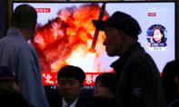 Triều Tiên phóng 2 vật thể nghi là tên lửa ra biển