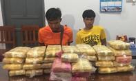 Hai người nước ngoài vận chuyển 215.000 viên ma túy