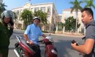 Thanh niên vi phạm còn la làng, vu vạ CSGT