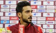 """Trung vệ UAE khiêu khích: """"Chúc các bạn may mắn"""""""
