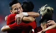 Những hình ảnh ấn tượng trong trận Việt Nam thắng UAE