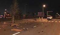 Xe máy tông nhau, hai người tử nạn
