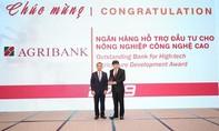 Agribank được vinh danh 2 giải thưởng Ngân hàng Việt Nam tiêu biểu