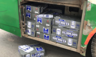 Dùng xe buýt buôn bia lậu từ Campuchia về Việt Nam