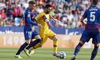Clip Barca thua thảm trước Levante, dù Messi ghi bàn
