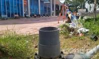 Trung tâm thanh thiếu niên tỉnh Quảng Ngãi: Nhếch nhác, thi công mãi không xong