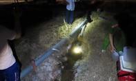 Công ty Trung Quốc xả thải vào rạch chảy ra sông Vàm Cỏ Đông