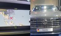 Tịch thu chiếc xe Volkswagen có