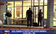 Tranh nhau chỗ xếp hàng mua sandwich, 1 người bị đâm chết