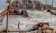 Bắt quả tang vụ hút trộm 600 m3 cát trên biển Cần Giờ