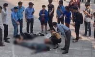 Thanh niên bị thương nặng vì bị người nhảy lầu tự tử rơi trúng