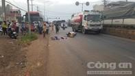 Xe tải tông liên hoàn, một người tử vong tại chỗ