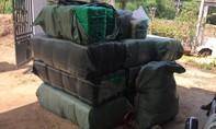 """Phá """"xưởng"""" sản xuất trà giả, thu giữ gần 1 tấn thành phẩm, nguyên liệu"""