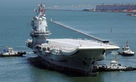 Tàu sân bay nội địa đầu tiên của Trung Quốc đi vào hoạt động