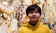 Cậu bé 12 tuổi người Việt thu gần 4 tỷ đồng nhờ bán tranh tự vẽ