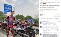 Đề nghị Cục CSGT xác minh vụ phượt thủ chạy xe máy