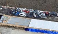 Gần 70 xe bị hư hỏng sau tai nạn liên hoàn trên cầu vượt Mỹ