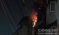 Cháy căn hộ tại chung cư Ấn Quang ở Sài Gòn