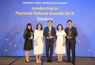 Ngân hàng Shinhan nhận 3 giải thưởng danh giá