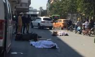 Bị xe tải tông từ phía sau, 2 người đi xe máy tử vong tại chỗ