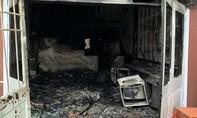 Nhảy từ lầu xuống thoát khỏi đám cháy, 1 người Hàn Quốc trọng thương