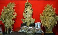 Những tuyệt tác từ trầm hương tại Hội hoa xuân Phú Mỹ Hưng