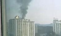Nổ nhà máy sản xuất đạn ở Hàn Quốc, 3 người chết