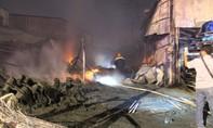 Bốn căn nhà ở Bình Dương cháy trong đêm