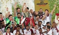 Khoảnh khắc Qatar nâng cup vô địch Asian Cup 2019