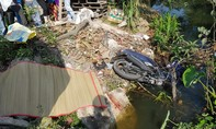 Người phụ nữ lao xe máy xuống kênh tử vong