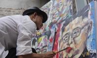 Họa sĩ Việt vẽ hai ông Kim - Trump cổ động Hội nghị thượng đỉnh
