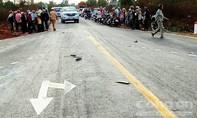 Tai nạn thảm khốc, cha mẹ và con gái tử vong tại chỗ