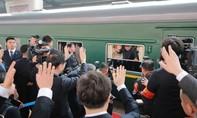 Reuters: Đoàn tàu chở ông Kim đã tới Trung Quốc