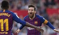 Messi lập hat-trick, Barca thắng ngược