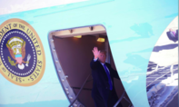 Tổng thống Mỹ đã lên Air Force One sang Việt Nam dự thượng đỉnh