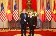 Tổng thống Mỹ gặp Tổng Bí thư, Chủ tịch nước Nguyễn Phú Trọng