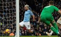 Aguero lập hat-trick, Man City thắng đậm Arsenal
