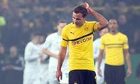 Dortmund bị loại khỏi Cup Quốc gia