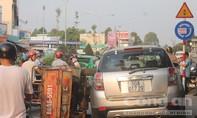 Tai nạn liên hoàn, giao thông ùn tắc nghiêm trọng