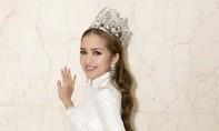 Hoa hậu Ngọc Châu khoe nhan sắc ngọt ngào
