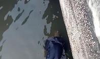 Thi thể người đàn ông khoảng 70 tuổi nổi lập lờ trên sông
