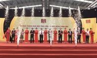 Khánh thành nhà máy ống kẽm nhúng nóng Hoa Sen