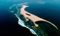 Xuất hiện một đảo cát dài hơn 3.000 mét giữa biển Hội An