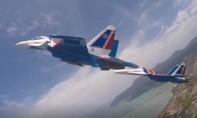 Clip màn trình diễn ấn tượng của đội bay Hiệp sĩ Nga tại LIMA 2019