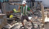 Chín căn nhà cháy trong đêm, 57 người thất thần