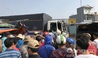 Xe tải đang chạy, lơ xe bất ngờ gục chết trong cabin